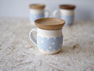 マグカップ / 木の蓋付き No.27の画像