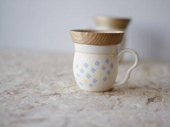 マグカップ / 木の蓋付き No.28の画像