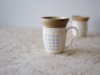 マグカップ / 木の蓋付き No.29の画像