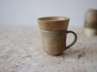 マグカップ / 木の蓋付き No.31の画像
