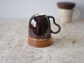 マグカップ / 木の蓋付き No.32の画像