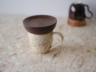 マグカップ / 木の蓋付き No.33の画像