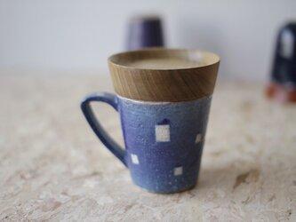 マグカップ / 木の蓋付き No.36の画像
