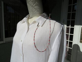 山珊瑚の帽子クリップ (送料無料)の画像