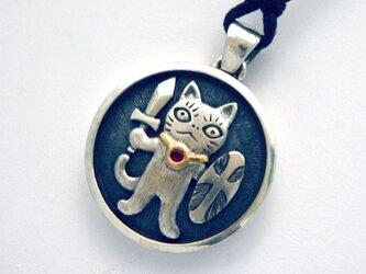お守り猫 ペンダント PⅦの画像
