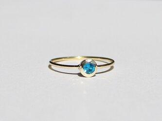 Apatite ring / K10YGの画像