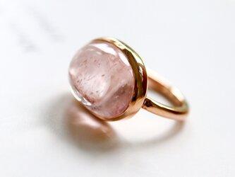 K10 モルガナイト ringの画像