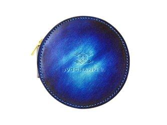 アクロモ ブルー サークルコインケースの画像