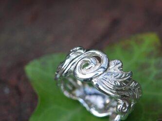 リーフ(葉)のリングの画像