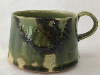織部マグカップ イの画像