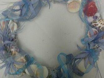 貝の美しいリース   シェルドリームの画像