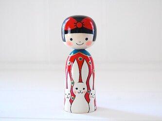 [conocokeshi]赤いリボンの女の子*白兎[5]の画像