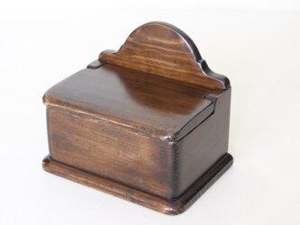 ふた付き木製セルボックス No.1883の画像