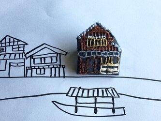 三重 伊勢:::問屋街のブローチの画像