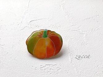 かぼちゃのブローチ(ボックス入)の画像