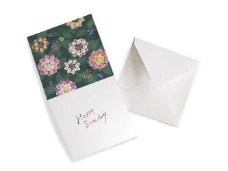 HEY DAY -Happy birthday- メッセージカード ランタナの画像
