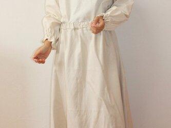着丈長め  大人のセミフレアースカートの画像