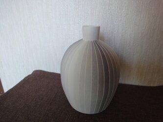 彩泥花瓶の画像