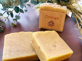 無添加【オレンジピール 石鹸】北海道の名水 京極の湧水使用 石けんの画像