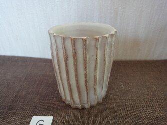 白化粧植木鉢Gの画像