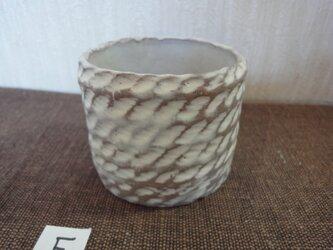 白化粧植木鉢Fの画像