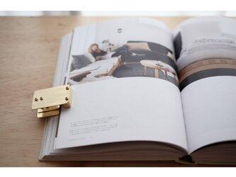 【送料無料】真鍮のブッククリップの画像