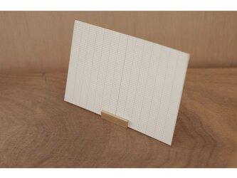 【送料無料】真鍮のカードスタンドの画像