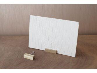 【送料無料】真鍮のカードスタンド 2個セットの画像
