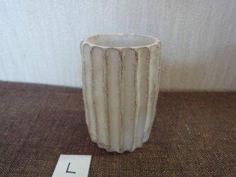 白化粧植木鉢Lの画像