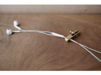 【送料無料】真鍮のコードホルダーの画像