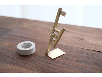 【送料無料】真鍮のテープカッターの画像