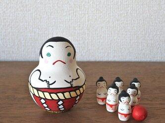 相撲ボウリング(赤)の画像