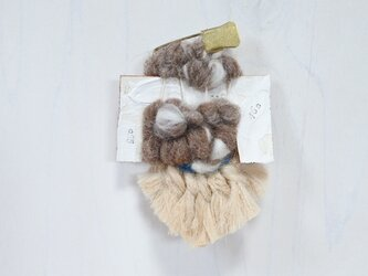 帽子にも合う weaving ブローチ (055 タッセル)の画像