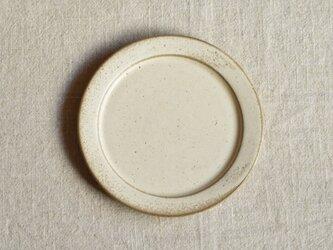 洋皿18cm 白の画像