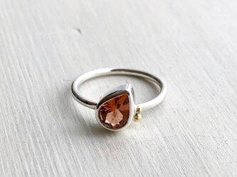 シナモントルマリン 秋の実りのリングの画像