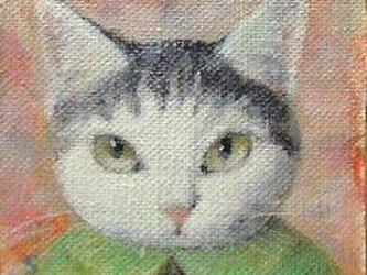 灰色と白(ピーグリーン)の画像