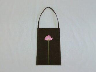 再販‥* 蓮子の花のワンショルダーバッグの画像