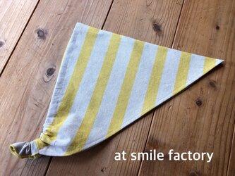 イエローの三角巾(送料無料)の画像