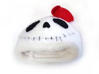 ハロウィンガイコツのかぶりもの(帽子)【S/M/L】の画像