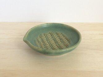 ちょっとおろし皿(グリーン)の画像