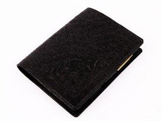 クオバディス・ダイアリーノートカバー(ビジネス)フルブラックの画像