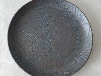 黒陰刻皿の画像
