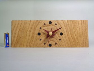 再販 栗のお木時計の画像