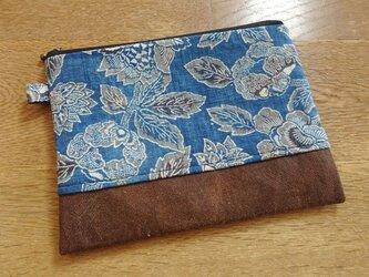 アンティーク木綿を楽しむポーチ(壱)の画像