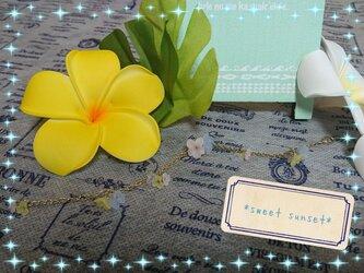 *pastel flower*(ブレスレット)の画像