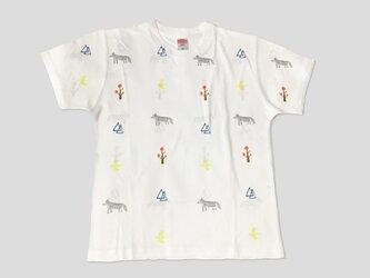 森の動物【ドライTシャツ】の画像