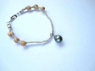 【Tahitian Pearl bracelet K2 】の画像