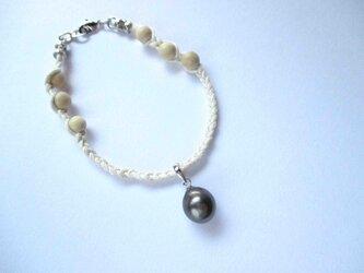 【Tahitian Preal bracelet w 】の画像