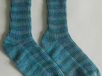 春夏用手編み靴下【ラナ グロッサ5105】の画像