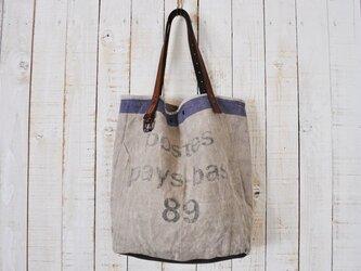★送料無料キャンペーン中★オランダ・ヴィンテージ 郵便集荷袋のトートバッグの画像